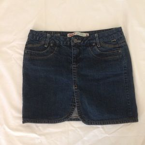 Only Brand Jean Skirt Mini Size 30 Size 10